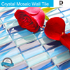 hot sale products custom epoxide resin floor tile sticker wallpaper flower design