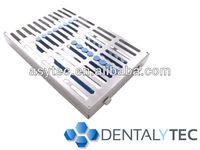 Dental instrument sterilization cassette/tray