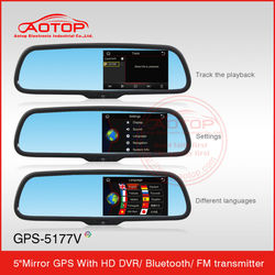 car dvr video recorder with gps with bluetooth FM Transmitter usb for vw