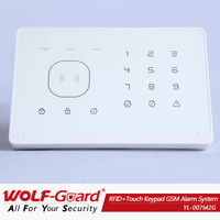 Wolf-Guard Gsm wireless home perimeter alarm system with App and RFID (YL007M2G)