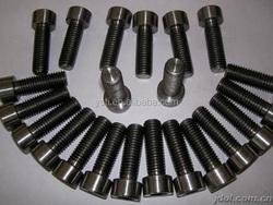 99.7% Best Sale Titanium Standard Fastener All Size Customed