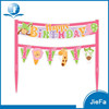 2015 Hot Sale Mini Pennant Banner Birthday Cake Decoration Pirate Cake Banners
