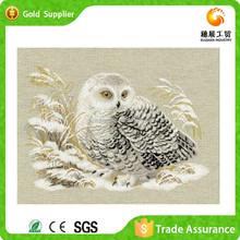 Durable White Owl Painting Animals Bedroom Wall Art Carry Diy Diamond Cross Stitch