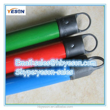 broom handle with pvc coated and powder coated