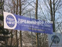 A todo color impreso banners de publicidad de malla