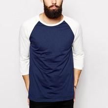 mens 100 organic cotton raglan half sleeve t shirt