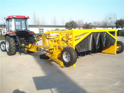 Towable Compost Turner Machine, Tractor Mounted Compost Turner