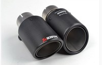 classical 101diagonal inlet63mm-outlet101mm for ak AKRAPOVIC carbon fiber exhaust tip exhaust pipe muffler