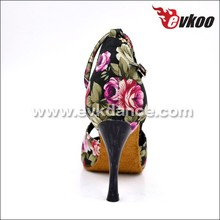 EVKdance high heels ballroom Latin dance shoes italian dance shoe manufacturers