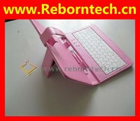 7 inch Keyboard Case For Android Tablet PC Pink KLC01-C