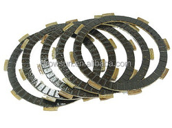 Motorcycle clutch plates sets for 125cc engine