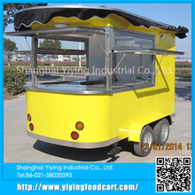 YY-CR320 new products 2015 china supplier new churros coffee cart trailers
