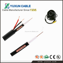 CE/ROHS/UL 3 in 1 cables coaxial CCTV cable rg59