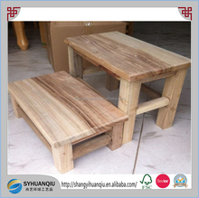 Small Wooden Wood Stool Bench stool for Adult Vintage Chinese Craft Retro