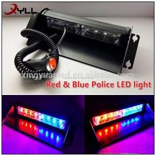 2014 la venta superior de la policía cubierta del led luz intermitente para camión de bomberos ambulancia luz de vehículo