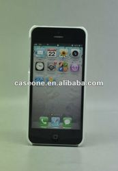 Snap-on plain PC hard case for iPhone 5, for iPhone5 accessory