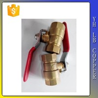 LBA-16 Refrigeration tool lead free brass ball valves for sale