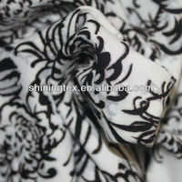 100 combed rayon printed shirt fabric for t shirt fabric
