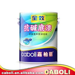 Caboli oil resistant water based interiorwall acrylic primer paint
