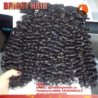 hot sale 7 pcs Jerry curl mixed hair beautiful style