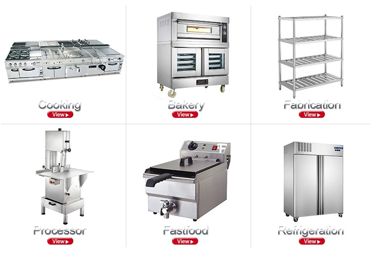Professional Hotel Kitchen Equipment Spare Parts List With Ce ...