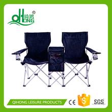 Folding Double Beach Chair with Table&Umbrella