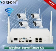 Day and night vision Special Features and CMOS Sensor ipc h.264 nvr kits for ip camera