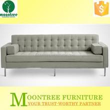 Moontree MBD-1152 modern click clack l shaped sofa bed