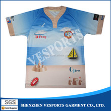 Custom cheap plain rugby jerseys