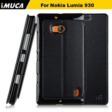 factory supply slim leather pc phone case for Nokia Lumia 930 with stand