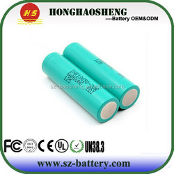 3.7v brand battery single cell 3400mah li-ion battery ICR18650 3400mah high capacity rechargeable battery in ShenZhen