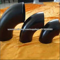 codo de tubería de acero de carbono
