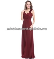 women party red color sleeveless for long tail cocktail dress