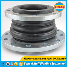 Best quality reduced rubber joint pipe fitting