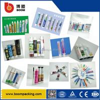 Shanghai export reasonable price aluminum-plastic laminated empty toothpaste tube packaging