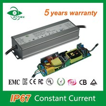 LED dc power supply waterproof IP67 led driver 70W constant current 2100mA driver for led street light