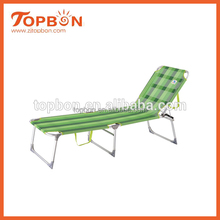 round lounge chair, outdoor swing lounge, cheap folding beach lounge chair, TB1017 ( a half aluminum tube and a half steel tube)