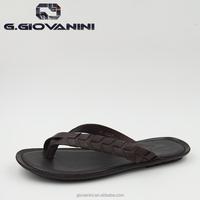 New models men slippers rubber sandals manufacturers