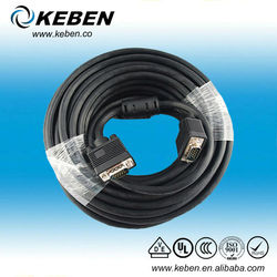 male to male hd monitor cable vga cable 30m
