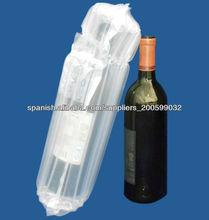 Embalaje de protección para la botella de vino