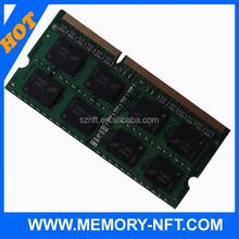 Best compatible ddr3 2gb 4gb 8gb ram SODIMM pc3-10600 1333 mhz laptop memory