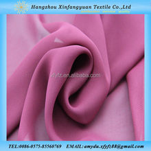 colorful dyed wholesale chiffon fabric