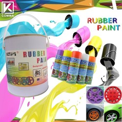 450ml Colorful Peelable Rubber Dip Spray, Rubber Paint Coating