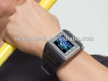 Cheap (ET-1) Phone Watch With Quadband + Numberic Keypad + FM + Voice Dialling + 1.33 Full touch screen