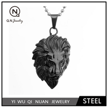 Jewelry Men's Stainless Steel Lion Style Pendant