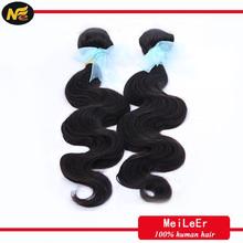 wholesale body wave malaysian human hair weaving, colored hair