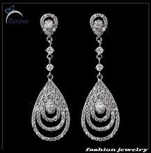 Noble & Droplight form earrings for bride