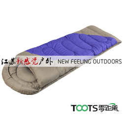 Thicken Cotton Envelope Sleeping Bag for Traveling Outdoors Sports