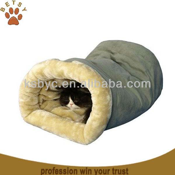 pet supply faux suede cozy cat bed