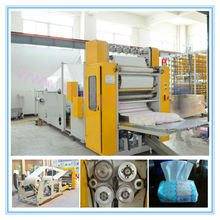 CE Certification Steel To Steel Embossing Facial Paper Tissue Producing Equipment
